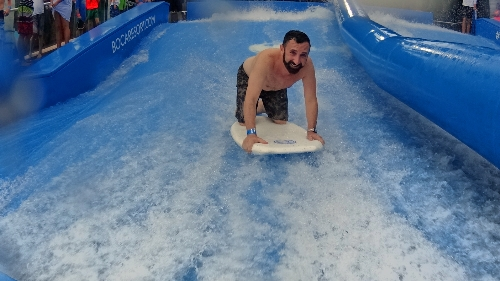 Flowrider ride Surf Boca