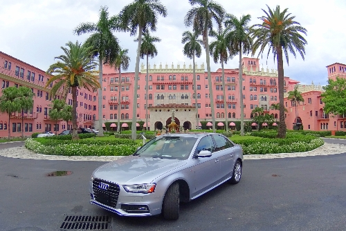 Silvercar Audi at Boca Resort