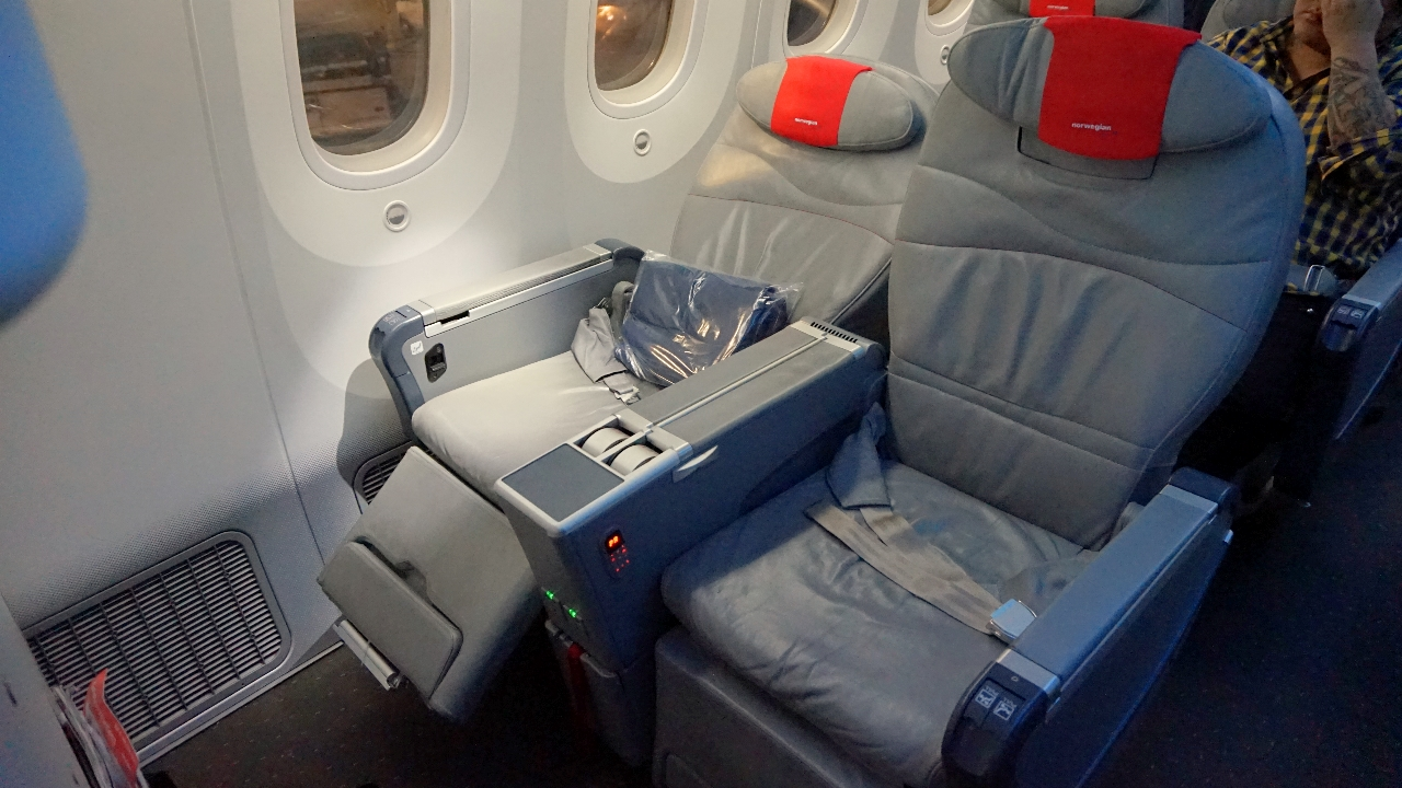 Seats Were Comfortable And Spacious Norwegian Premium