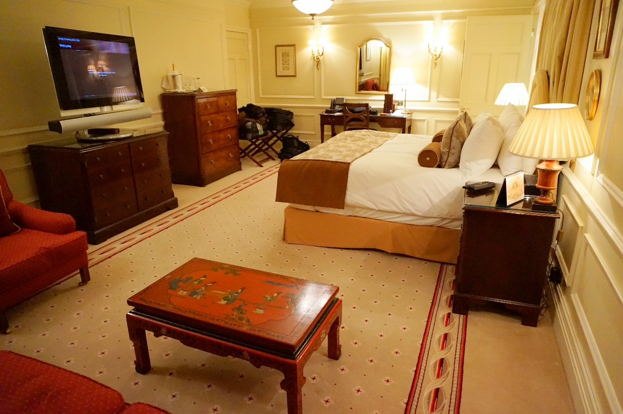 Mandarin Oriental Hyde Park London junior suite
