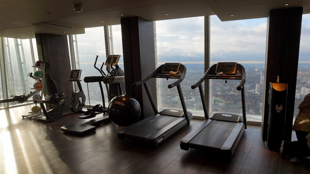 Shangri-La London gym