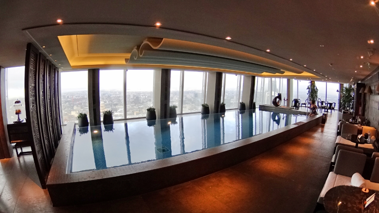 Sky Pool at Shangri-La London
