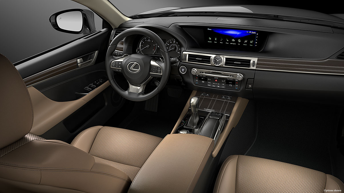 Lexus GS technology