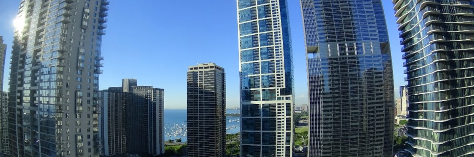 View from the Swissotel Chicago