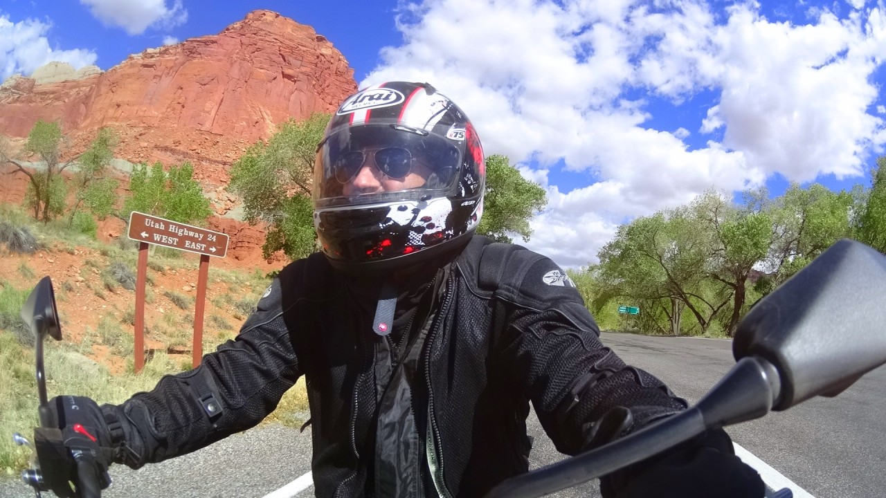 Utah motorcycle ride