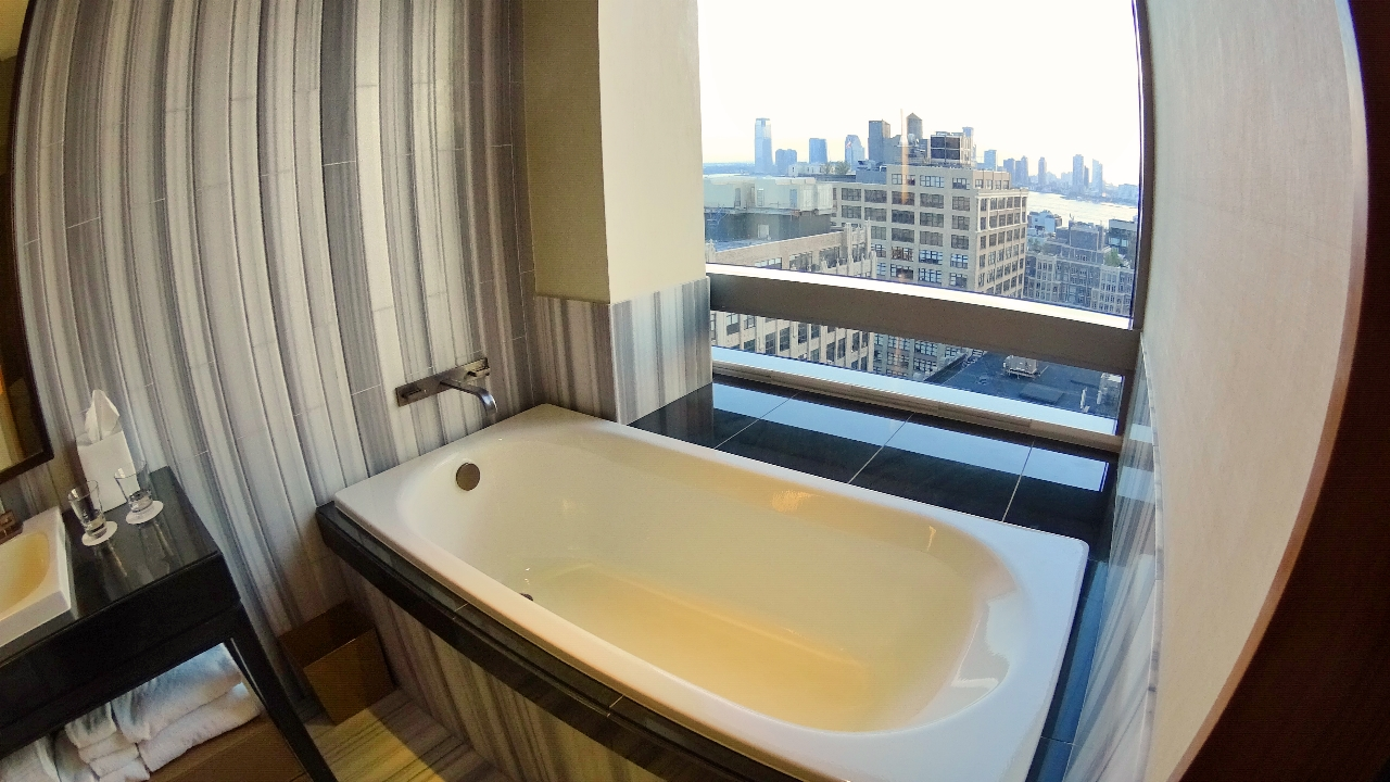 Trump Soho bathtub