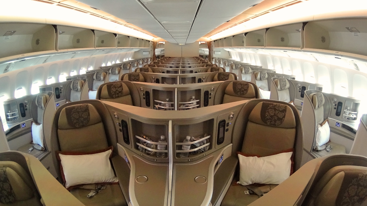 China eastern Airlines business class