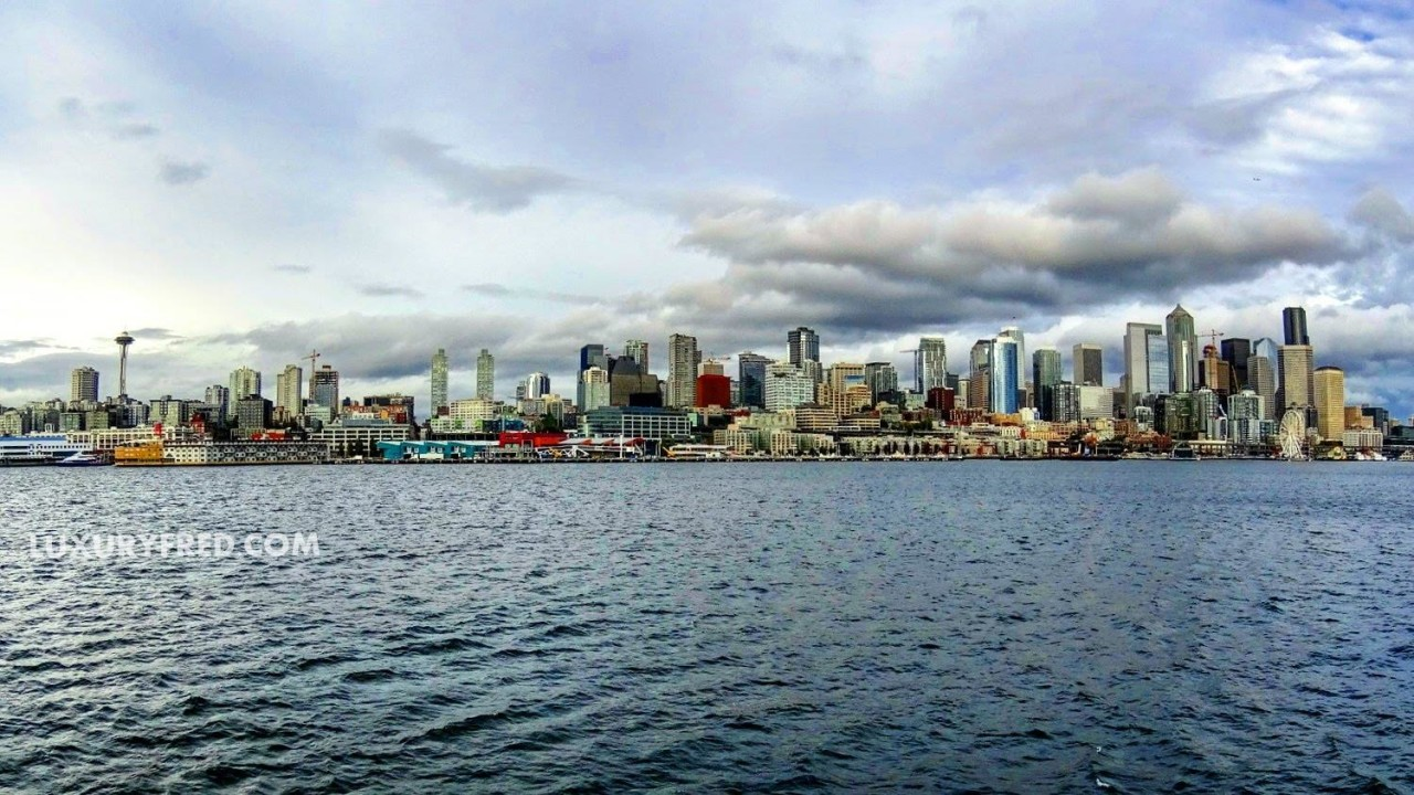 Seattle ferry view